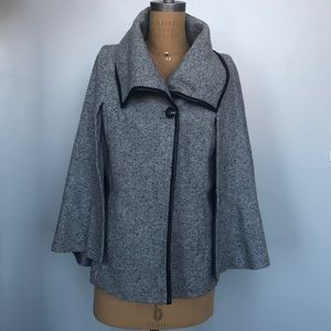 Apt.9 Gray Cape Faux Leather Finish Large Lined